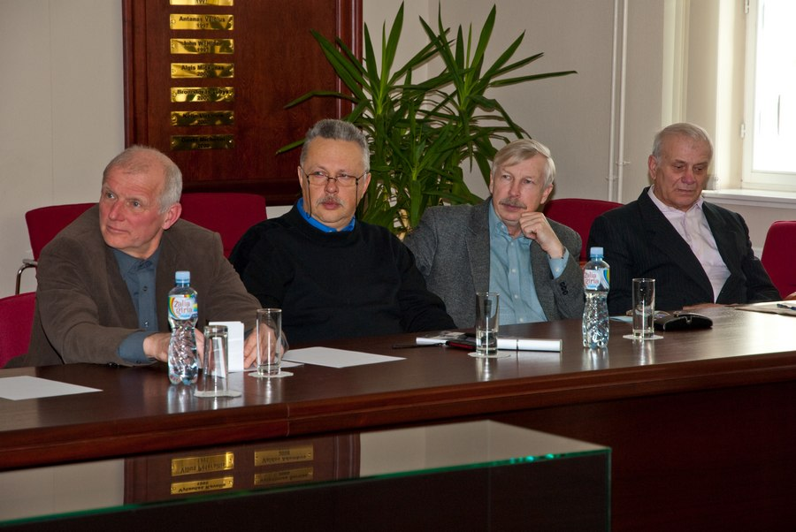 Lietuvos taikomųjų mokslų akademijos posėdis. Klaipėdos universitetas, 2012.03.30