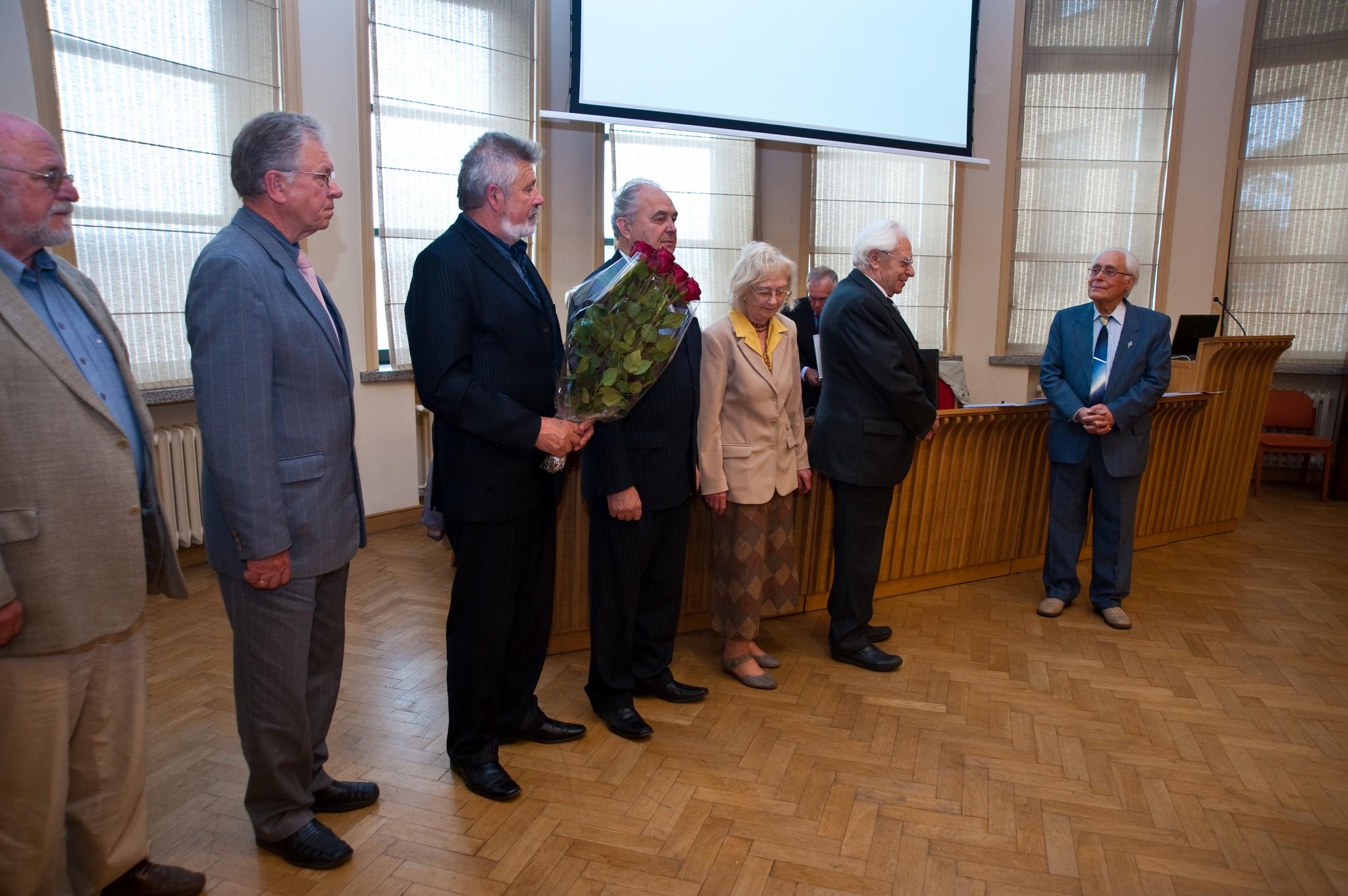 Prof. habil.dr. Povilo Balčiūno akademiniai skaitymai. Renginio 2-a dalis – sveikinimai. 2017.06.23.